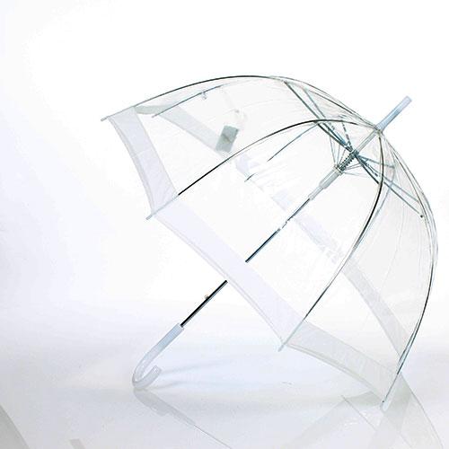 Parapluie transparent isotoner - Parapluie cloche transparent isotoner ...