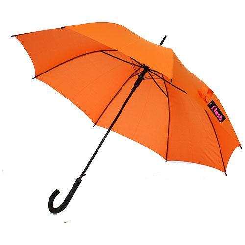 parapluie droit automatique orange pas cher rue du parapluie. Black Bedroom Furniture Sets. Home Design Ideas
