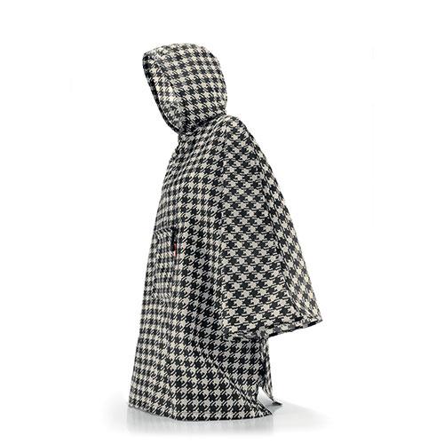 poncho v tement de pluie pour femme blanc et noir reisenthel. Black Bedroom Furniture Sets. Home Design Ideas