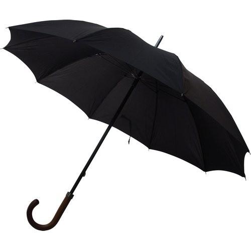 parapluie de ville noir parapluie droit rue du parapluie. Black Bedroom Furniture Sets. Home Design Ideas
